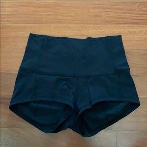 Lululemon Spandex Shorts High Rise - size 4